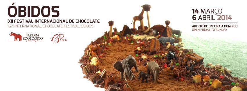 XII Festival internacional de chocolate em Óbidos