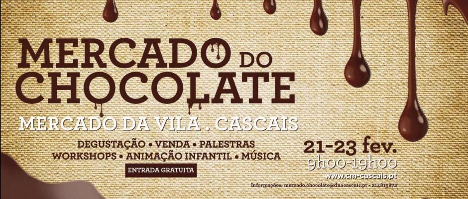 Mercado do chocolate em Cascais
