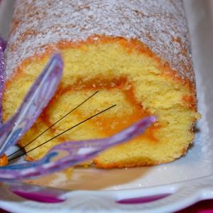 Torta com doce de ovos XXL