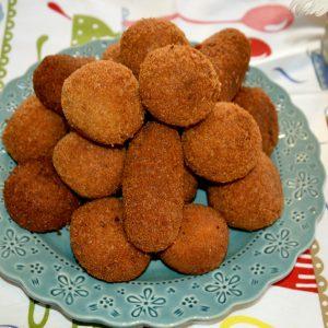Croquetes de Carne com Alheira