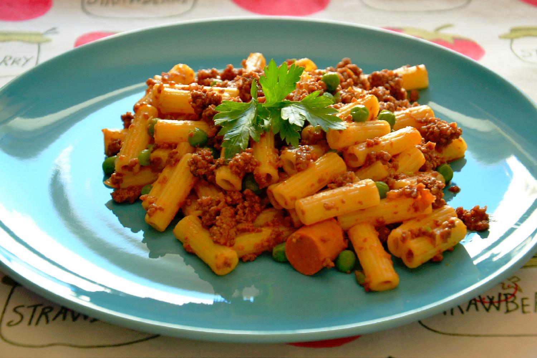 Receita macarronada com carne picada ingredientes - Como cocinar carne picada ...