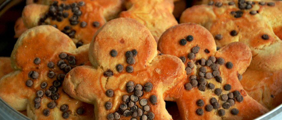 Biscoitos de Milho Natalícios