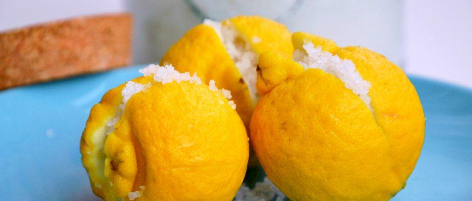 Conserva de Limão á Marroquina