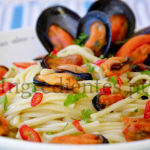 Linguine com Mexilhão