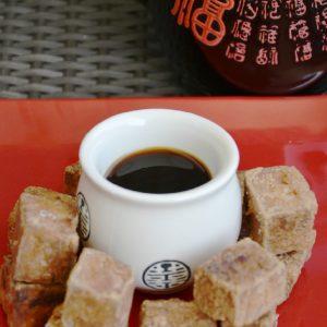 Tofu com molho de soja