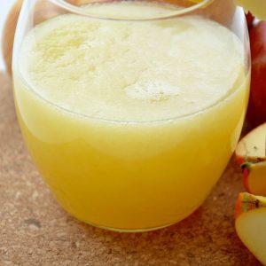 Sumo de Maçã com Limão