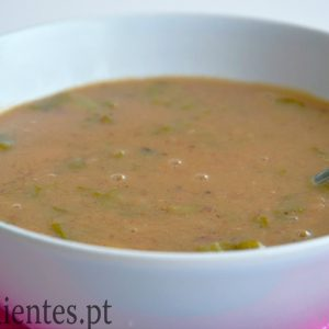 Sopa de Feijão Frade e Couve Galega