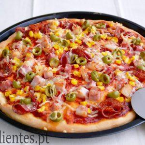 Pizza de Massa Fofa