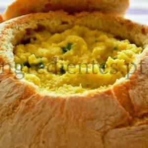 Açorda no Pão